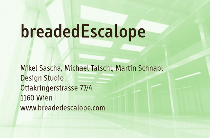 breadedEscalope Design Studio!!!